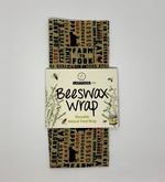 Small Farm to Fork Beeswax Wrap