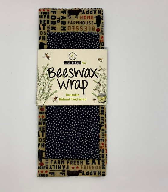 Twin Pack of Beeswax Wraps - Small and Large