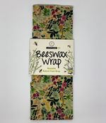 Large Floral Beeswax Wrap