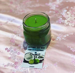 Coconut and lime Natural candle