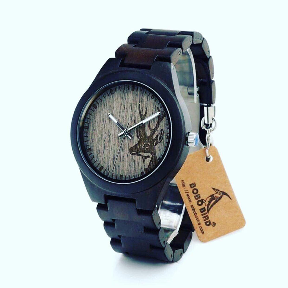 Bamboo Deer Head Bobo Bird Watch