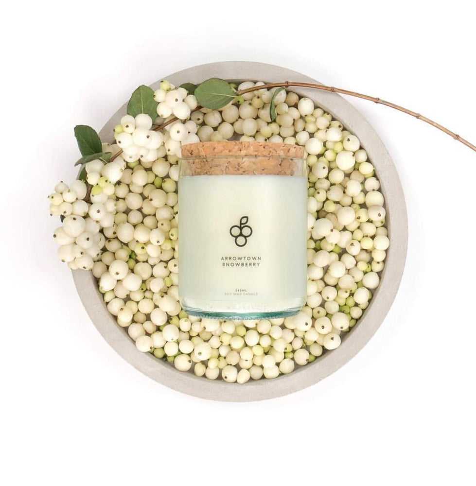 Arrowtown Snowberry Candle