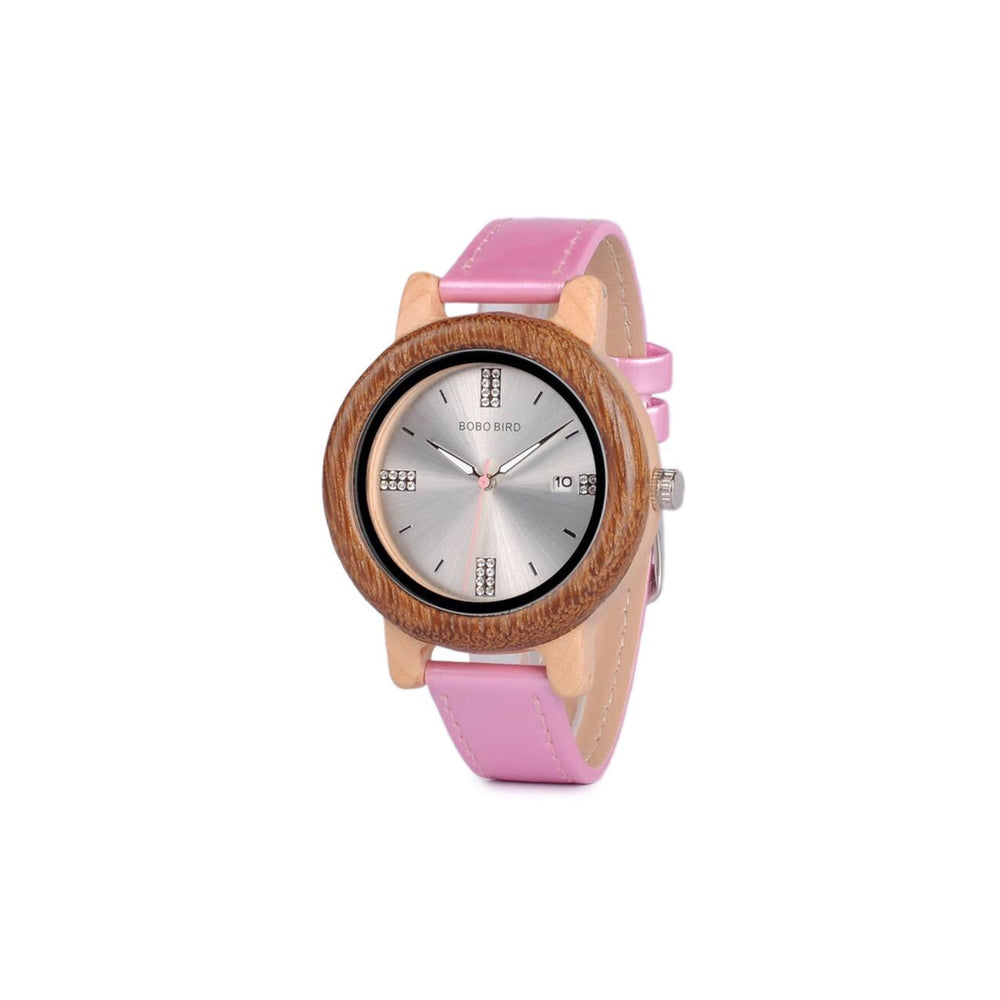 Bobo Bird Pink Diamantes Watch
