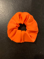 Orange medium scrunchie