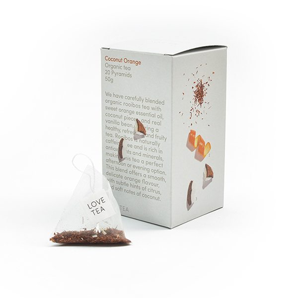 Coconut Orange Organic Tea