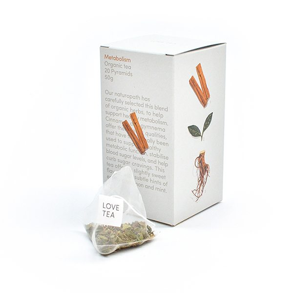 Metabolism Boost Tea Bags 50g