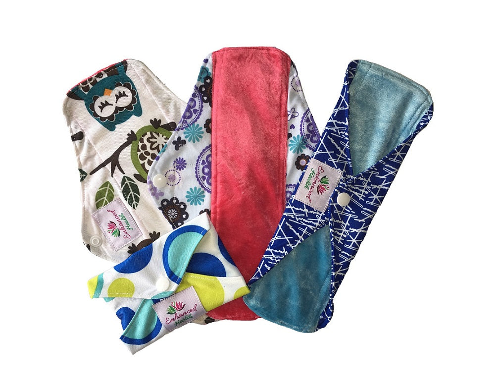 Twin-pack Reusable Cloth Pads