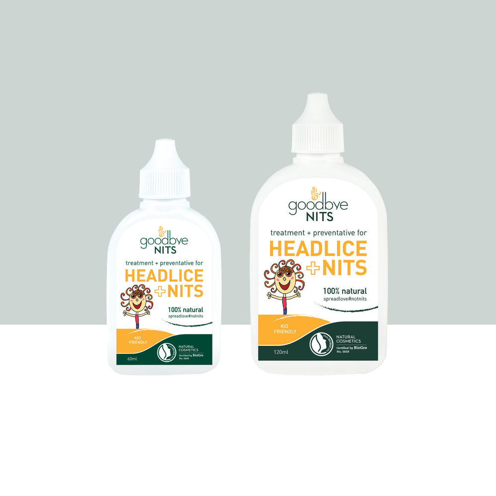 Headlice & Nits Natural treatment & preventative 120ml
