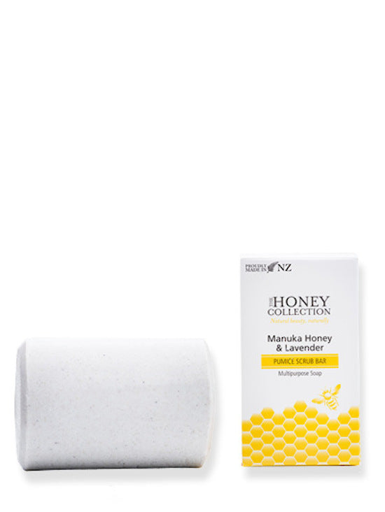 Manuka Honey and Lavendar Pumice Scrub Bar