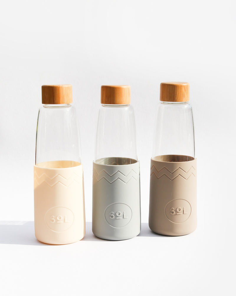 Sol Reusable Glass Bottles