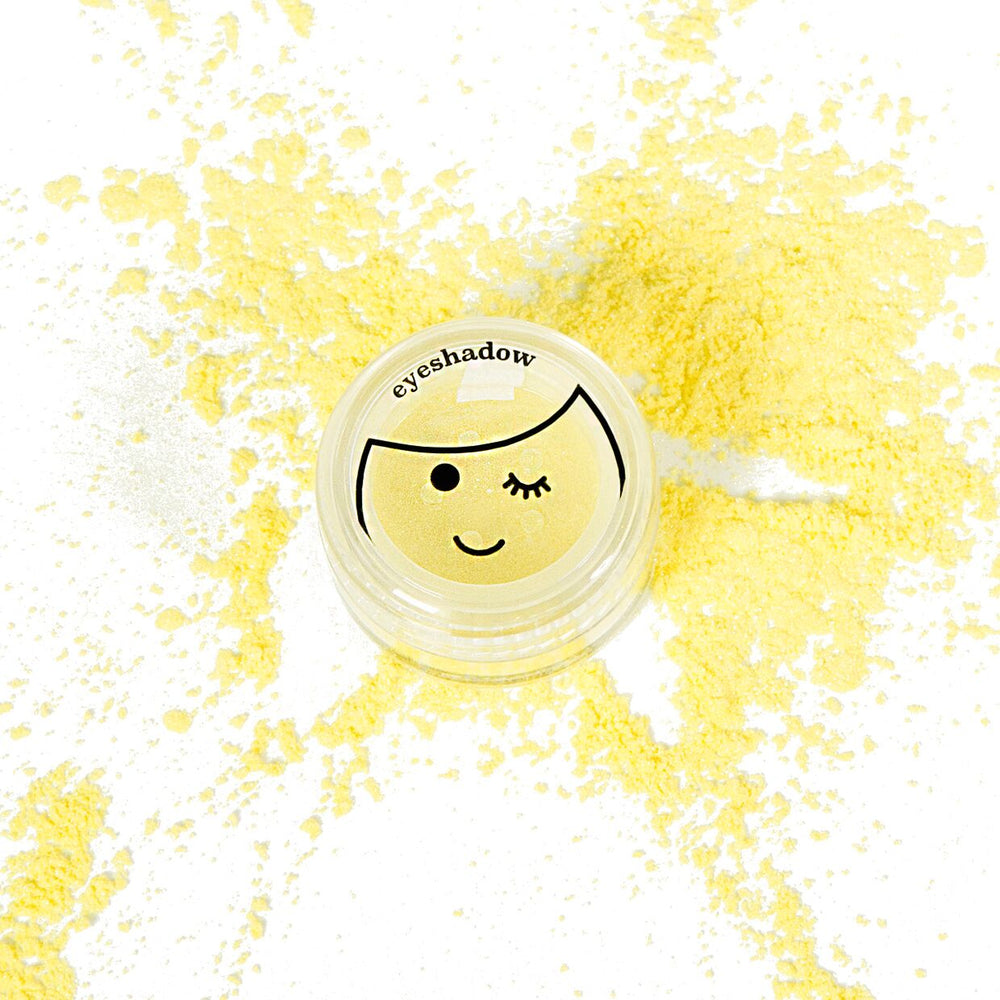 Kids Yellow Shimmery Eyeshadow