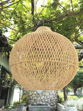 Load image into Gallery viewer, Woven Rattan Bulb Light