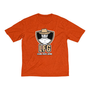 LFG Men's Dri-Fit Shirt(Centered Logo)