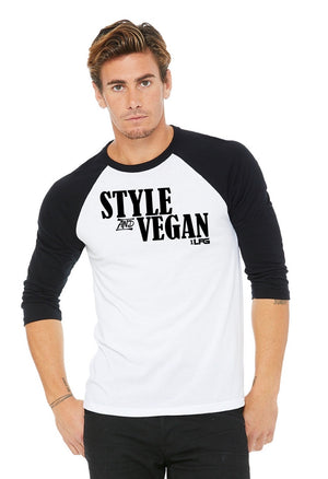 Style And Vegan Baseball Tee