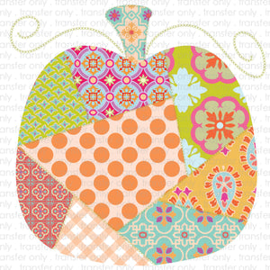 Quilted Pumpkin Sublimation Transfer