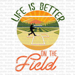 Life is Better at the Field Sublimation Transfer