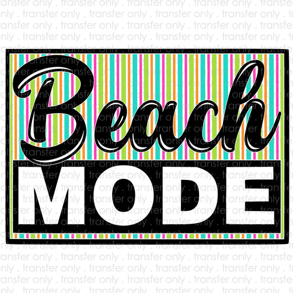 Beach Mode Sublimation Transfer