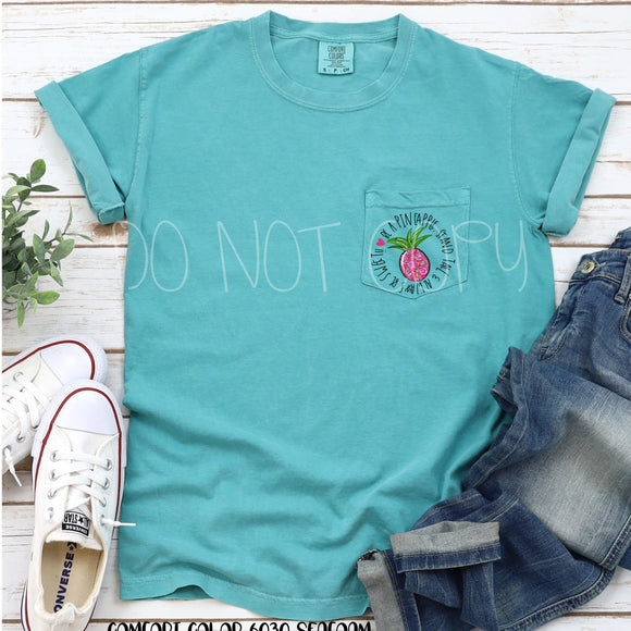 Be a Pineapple Pocket Size Screen Print Transfers