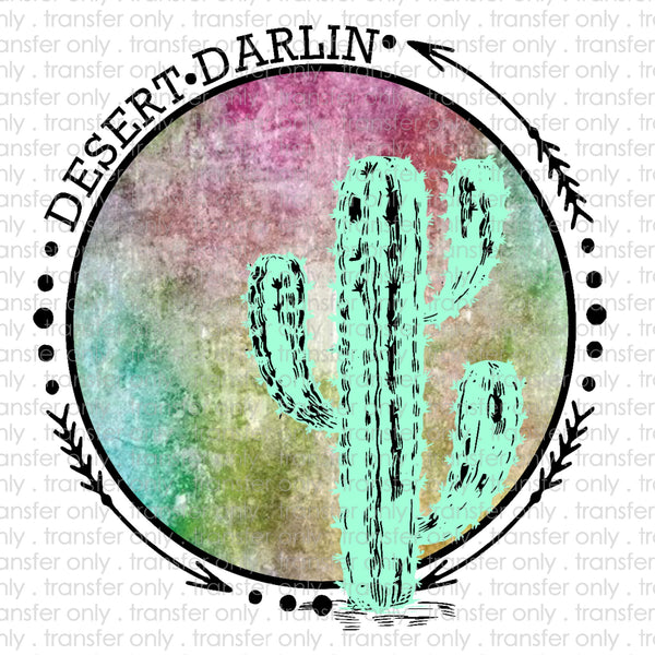 Desert Darlin' Sublimation Transfer