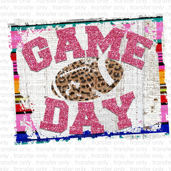 Game Day Serape Sublimation Transfer