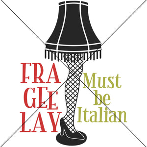 Frageelay Must Be Italian Sublimation Transfer