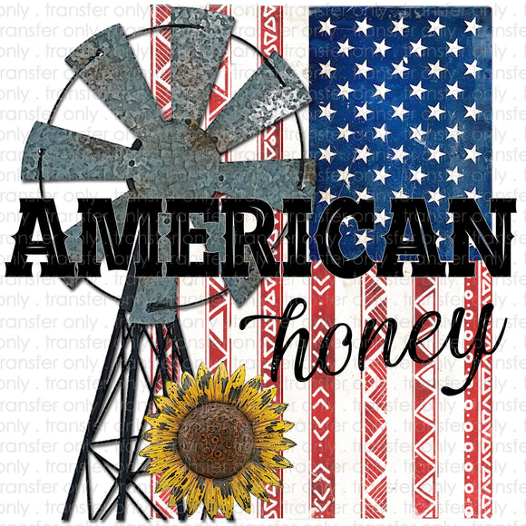 American Honey Sublimation Transfer