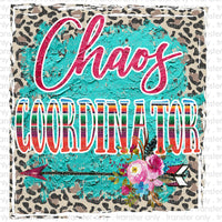 Chaos Coordinator Sublimation Transfer