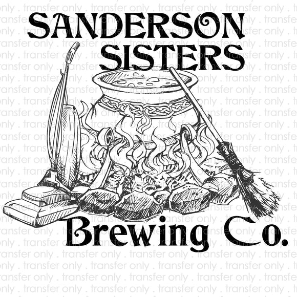 Sanderson Sister Brewing Company Sublimation Transfer
