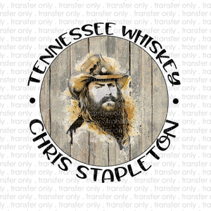 Tennessee Whiskey Sublimation Transfer