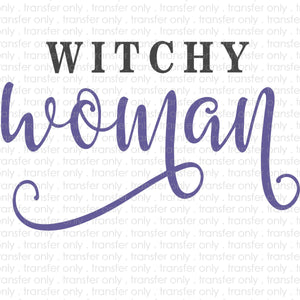 Witchy Woman Sublimation Transfer