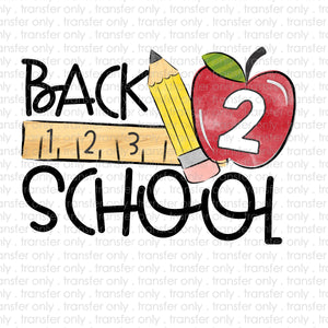 Back to School Sublimation Transfer