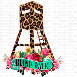 Blind Date Leopard Sublimation Transfer