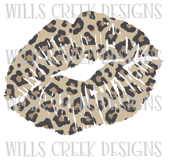 Cheetah Lips Digital Dowload