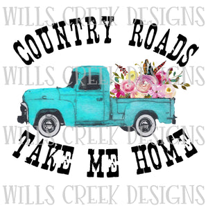 Country Roads Take Me Home Digital Download