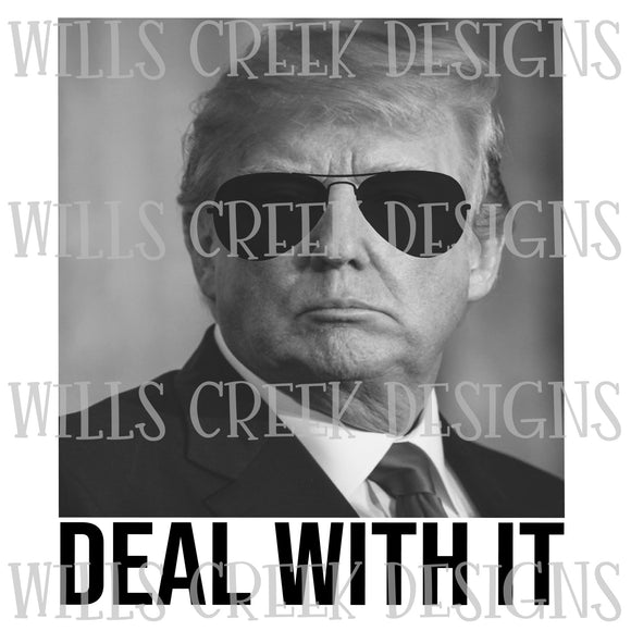 Deal With It Trump Sublimation Transfer