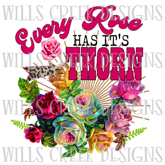 Every Rose Has Its Thorn Digital Download