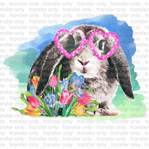 Rabbit Sunglasses Sublimation Transfer