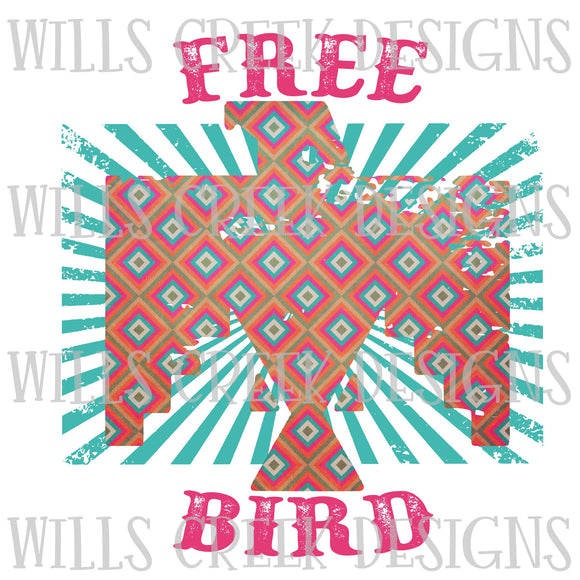 Free Bird Sublimation Transfer