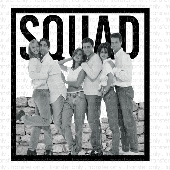 Friends Squad Sublimation Transfer