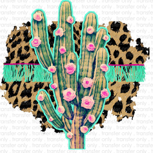 Fringe Cactus Sublimation Transfer