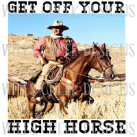Get off your High Horse Digital Download