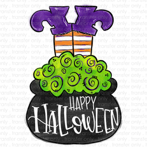 Happy Halloween Sublimation Transfer