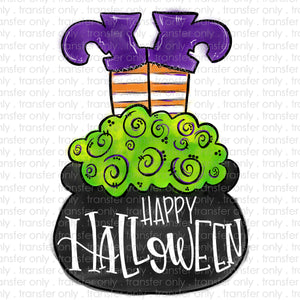 Happy Halloween Heat Transfer Vinyl Transfer