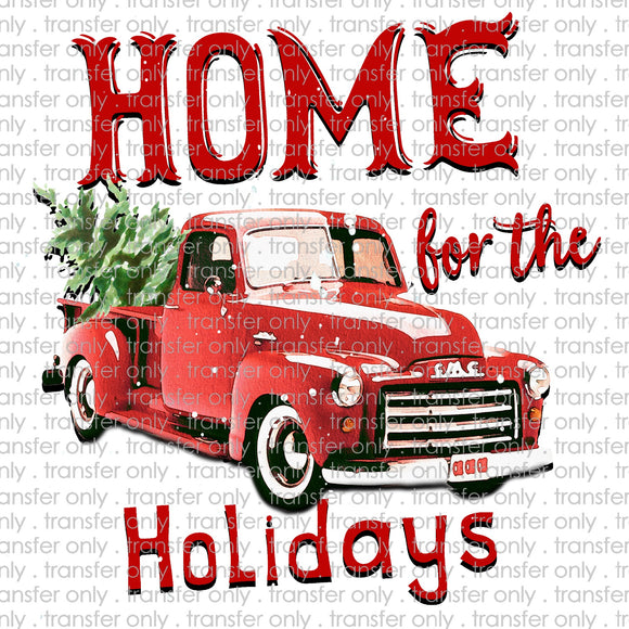 Home for the Holidays Sublimation Transfer