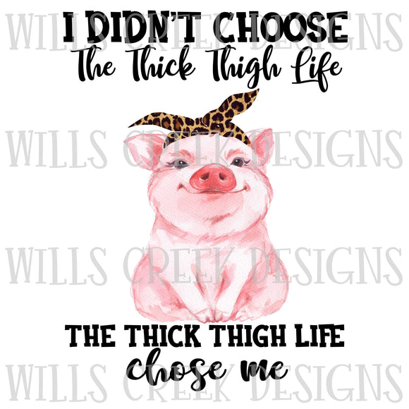 DIGITAL DOWNLOAD I didn't choose the thick life