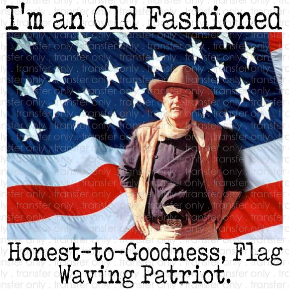 I'm an Old Fashioned Patriot Digital Download
