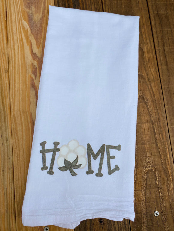 Home Cotton Towel Screen Print Transfers