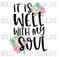 It Is Well With My Soul Digital Download