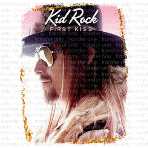 Kid Rock Sublimation Transfer