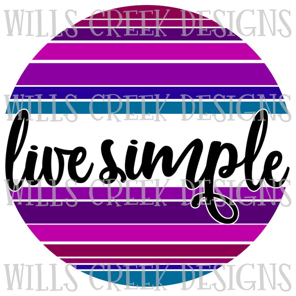 Live Simple Digital Download